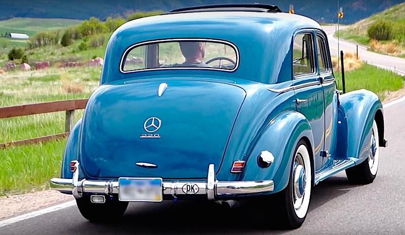 DLEDMV - Mercedes benz 220 W187 The Blues - 02