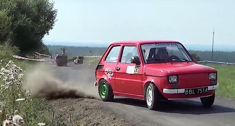 DLEDMV - Fiat 126 burnée ! - 01