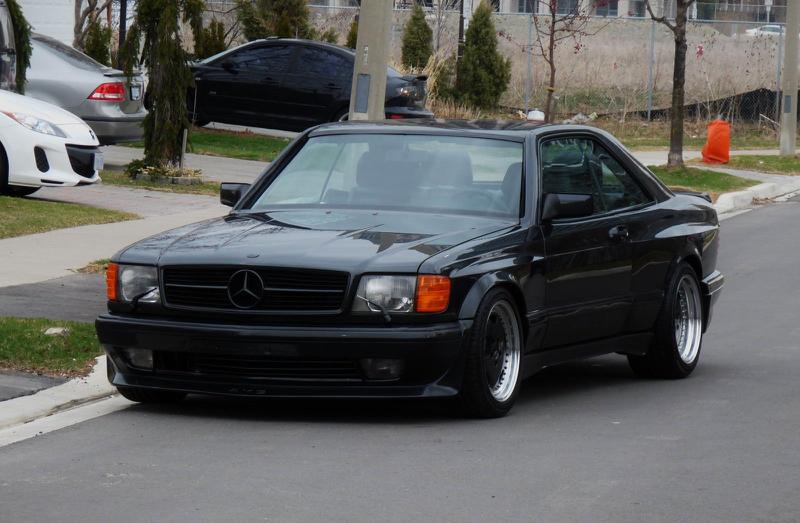 DLEDMV - Mercedes 560 SEC AMG Grey - 02
