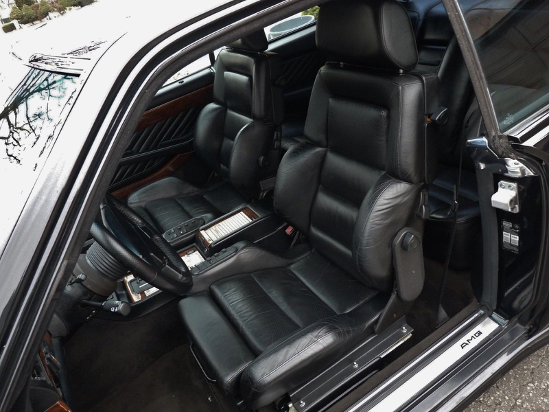 DLEDMV - Mercedes 560 SEC AMG Grey - 04