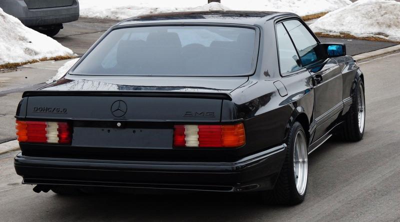 DLEDMV - Mercedes 560 SEC AMG Grey - 05