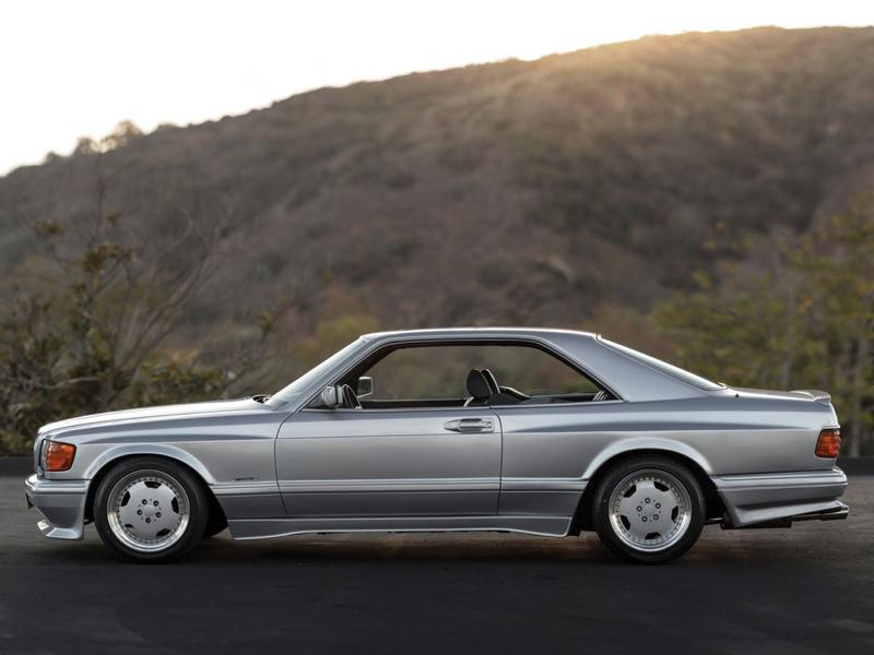 DLEDMV - Mercedes 560 SEC AMG Grey - 09