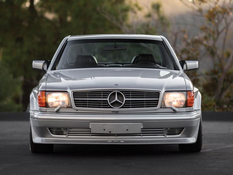 DLEDMV - Mercedes 560 SEC AMG Grey - 14