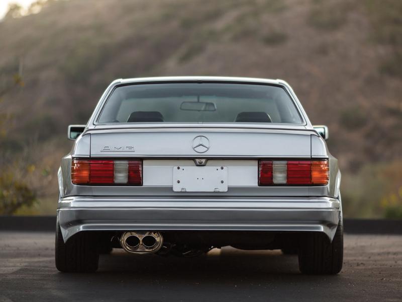 DLEDMV - Mercedes 560 SEC AMG Grey - 15