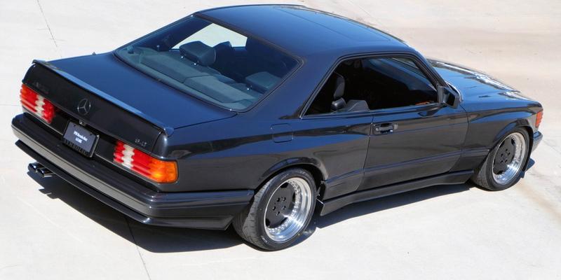 DLEDMV - Mercedes 560 SEC AMG Grey - 23