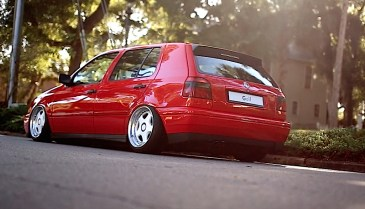 DLEDMV - VW Golf 3 airride OZ - 02