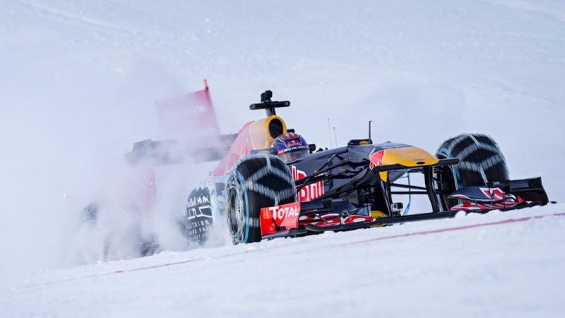 DLEDMV - F1 Verstappen Snow - 03