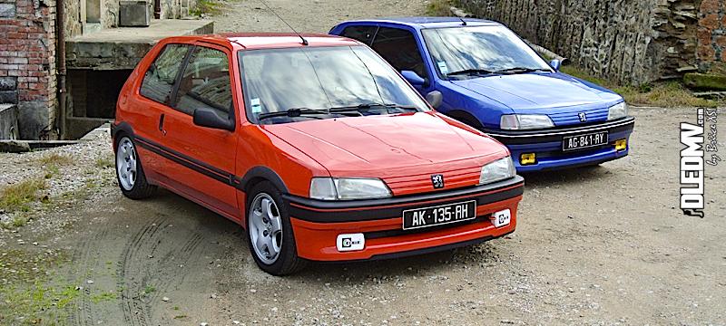 DLEDMV - Peugeot 106 XSI Brice&Lilian - 17