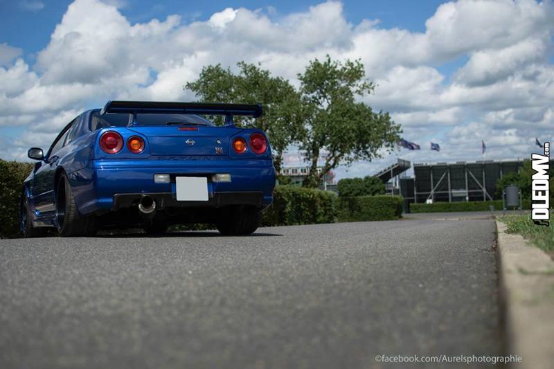Skyline R34 GT-T - En bleu et en France... 12