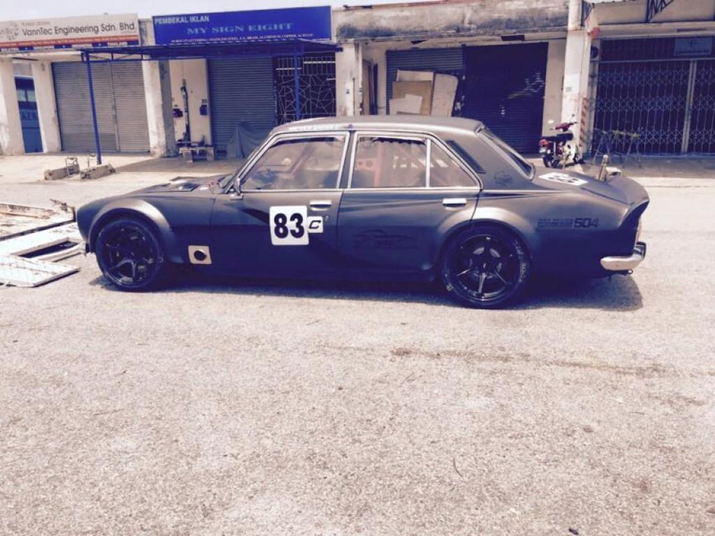 Peugeot 504 swap SR20DET... Elle va vous plaire celle là ! 3