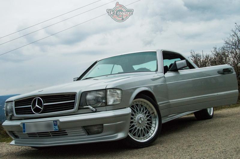 DLEDMV - Mercedes 500 SEC Exclue - 13