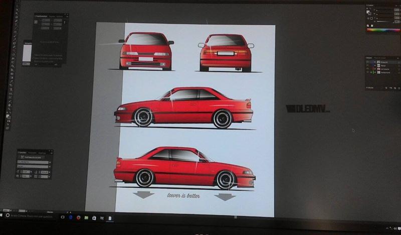 DLEDMV - Julien Graphikustom & Mazda - 12