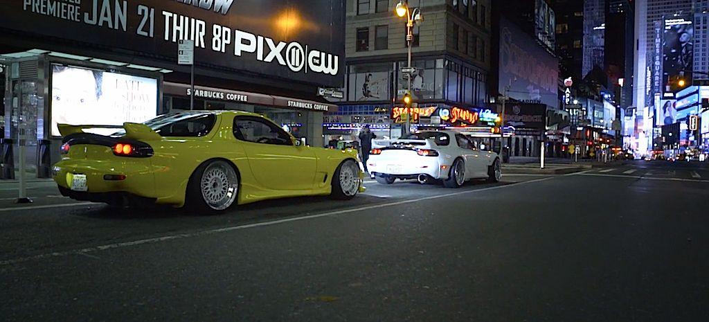 DLEDMV - Mazda RX7 FD X2 Times Square - 03