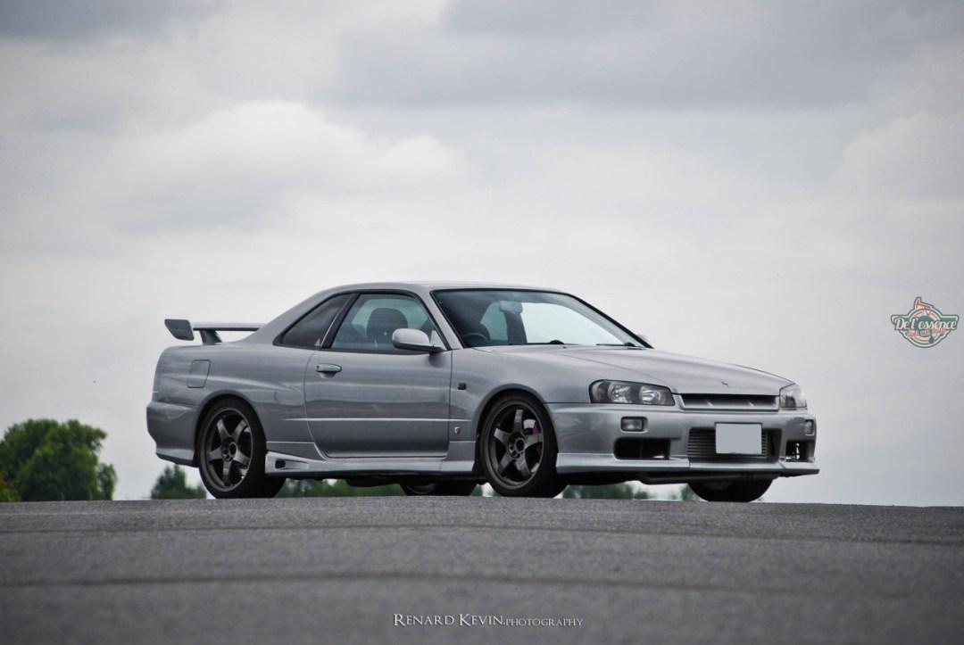 DLEDMV - Nissan Skyline R34 Grey KevinR - 02