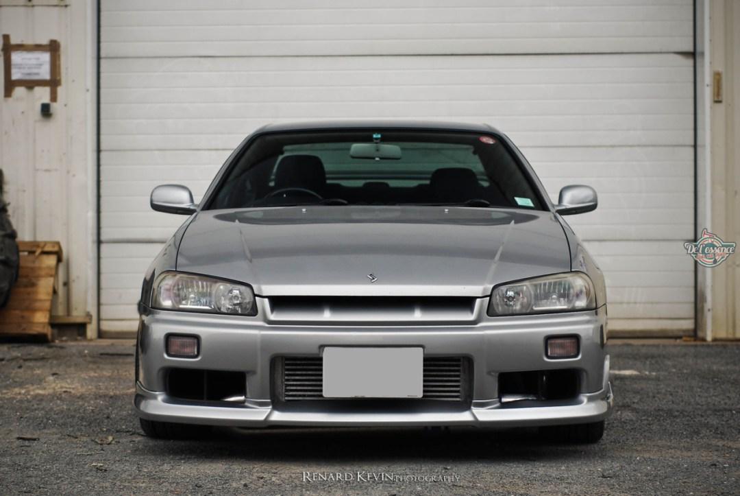 DLEDMV - Nissan Skyline R34 Grey KevinR - 04