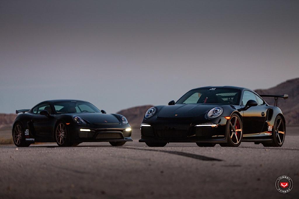 DLEDMV - Porsche GT3 RS & Cayman GT4 Vossen - 09