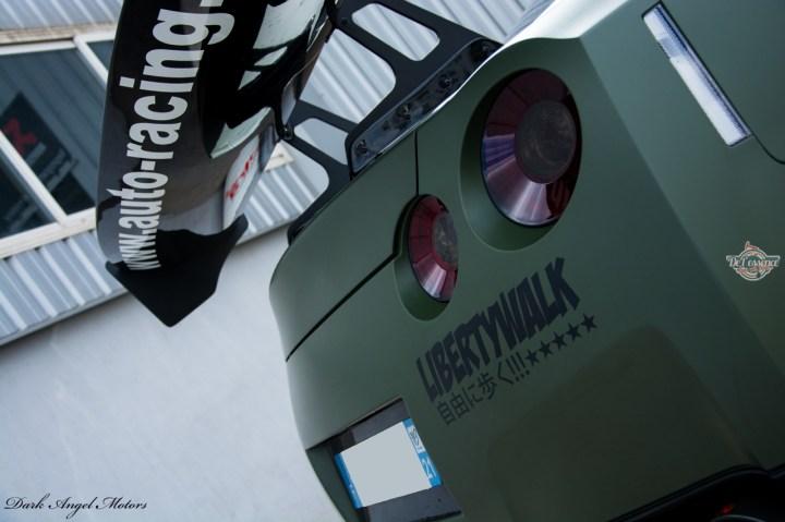 DLEDMV - R35 Liberty Walk Dijon Auto Racing - 17