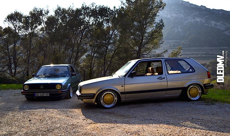 DLEDMV - VW 2 GOlf 2 Bastien & Matthieu - 01