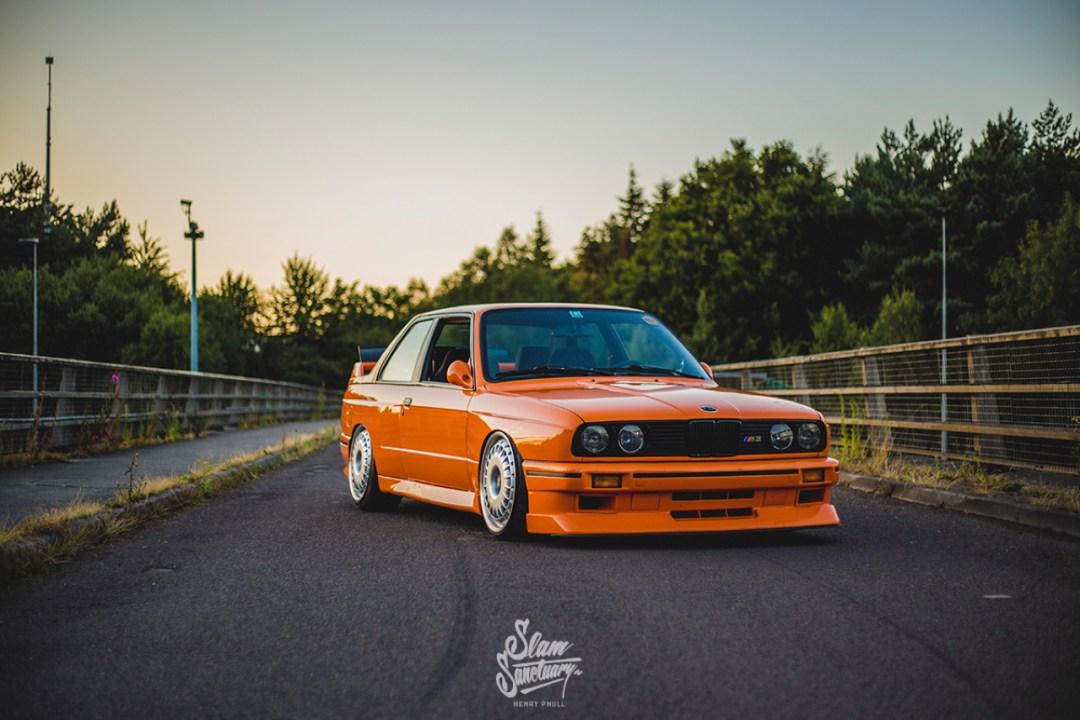 DLEDMV - BMW M3 E30 Orange Airride Bugatti - 04