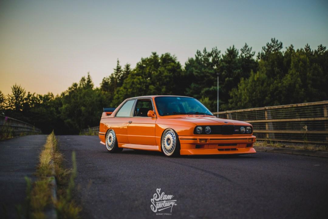 DLEDMV - BMW M3 E30 Orange Airride Bugatti - 05