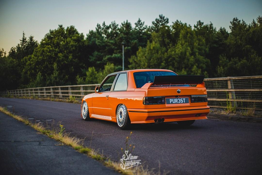 DLEDMV - BMW M3 E30 Orange Airride Bugatti - 08