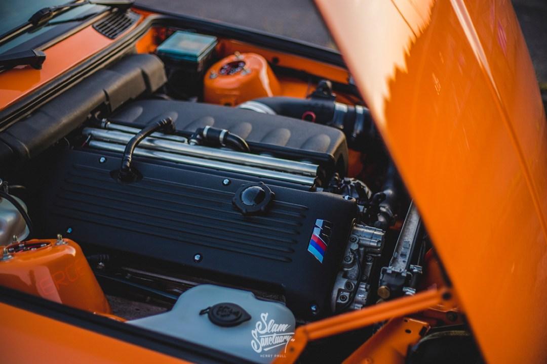 DLEDMV - BMW M3 E30 Orange Airride Bugatti - 10