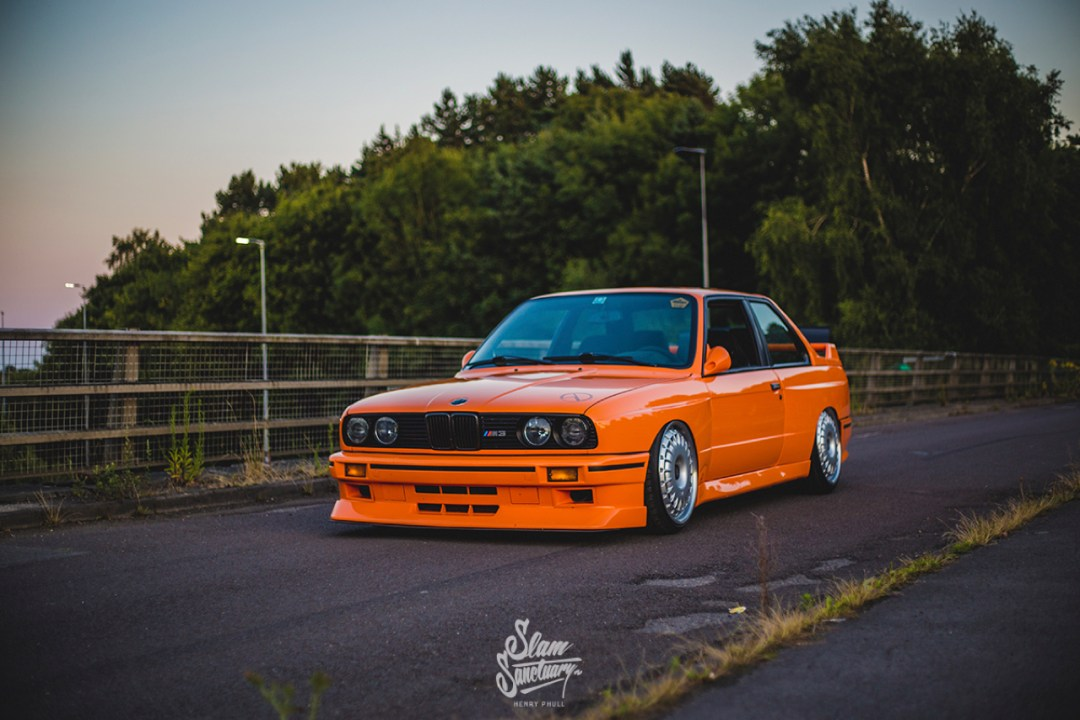 DLEDMV - BMW M3 E30 Orange Airride Bugatti - 11