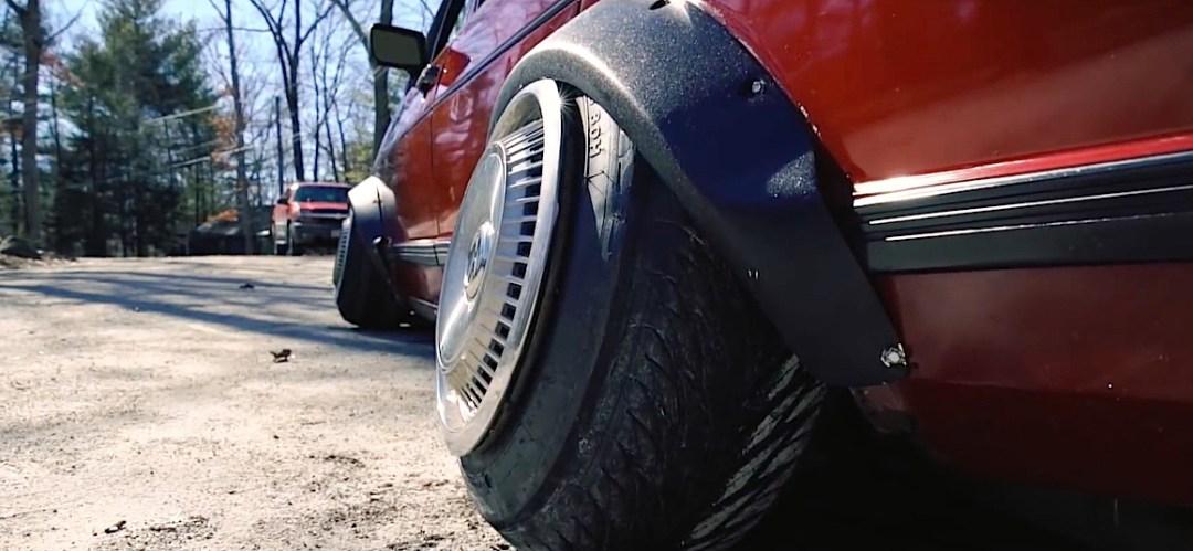 DLEDMV - VW Jetta MK1 Slammed Static - 01