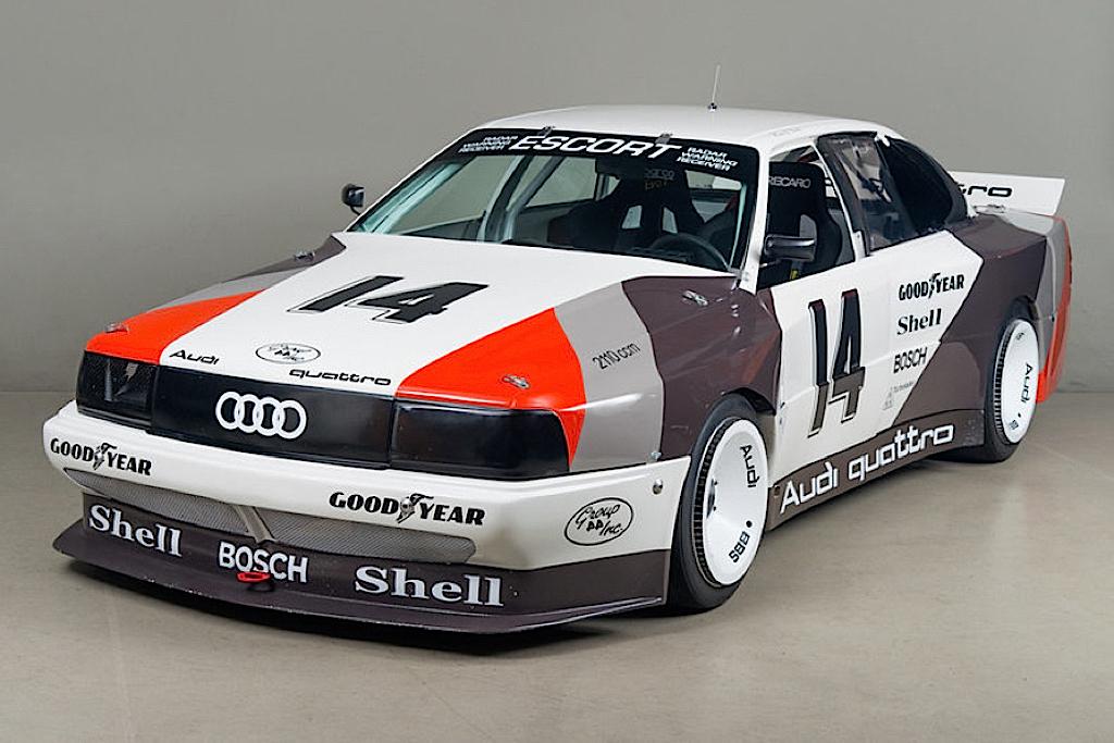 Audi 200 Trans-Am, Quattro pistarde 20
