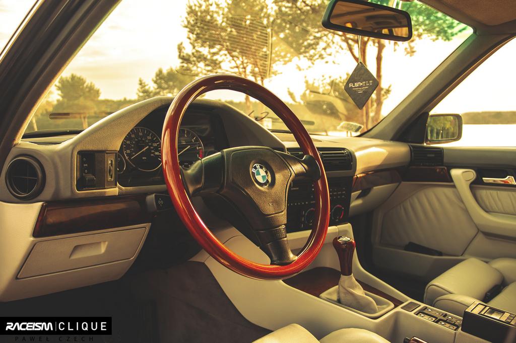 DLEDMV - BMW E34 Touring Slammed - 11