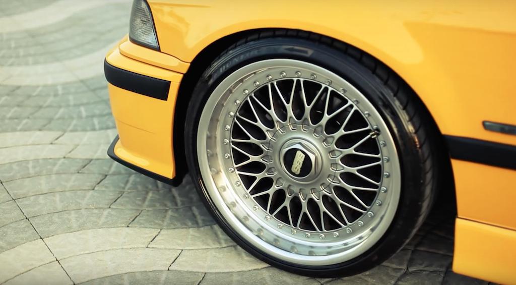 DLEDMV - BMW M3 E36 BBS jaune - 04