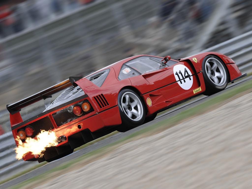 DLEDMV - Ferrari F40LM Engine SOund - 01