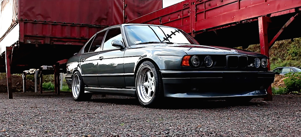 BMW M5 E34... Le diable s'habille en AC Schnitzer ! 11