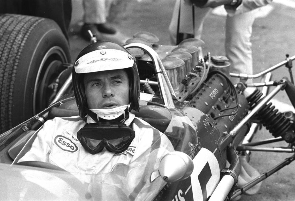 Jim Clark : Drift en Cortina Lotus 20