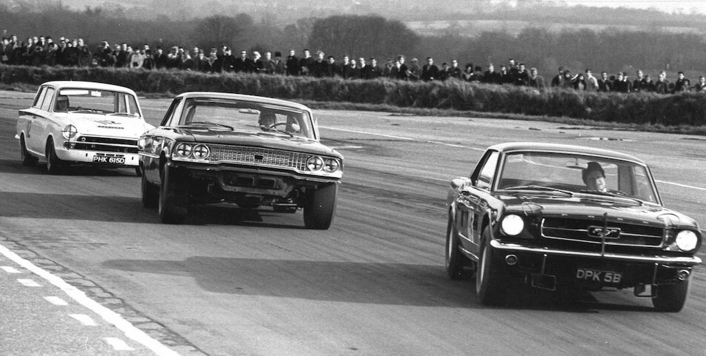 Jim Clark : Drift en Cortina Lotus 17