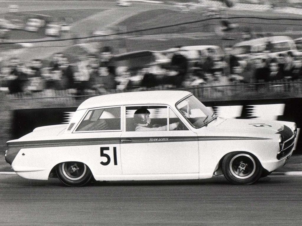 Jim Clark : Drift en Cortina Lotus 16