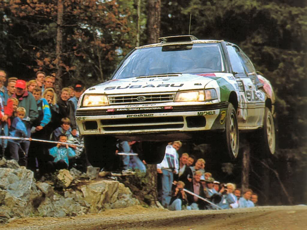 Subaru Legacy WRC... avec un certain Colin McRae 19