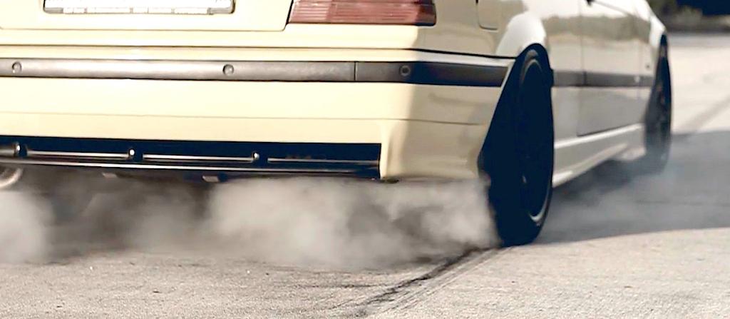 Supercharged BMW M3 E36... Fumeuse de pneus ! 15