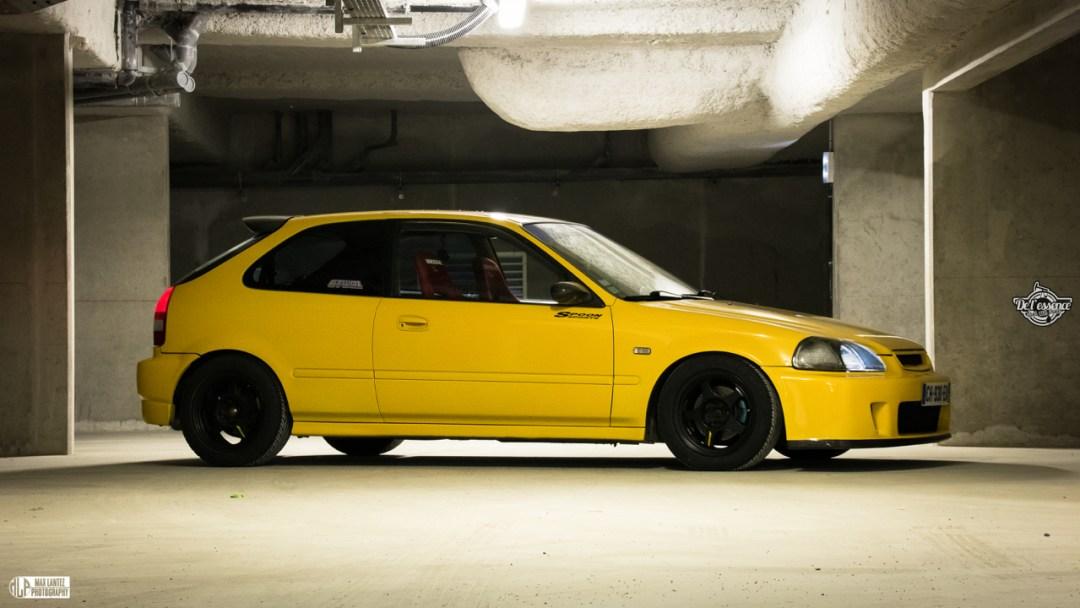 Honda Civic EK4 Spoon... Poussin sous amphet' 45