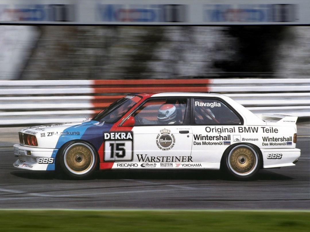 BMW M3 E30 DTM - Faites place ! 5