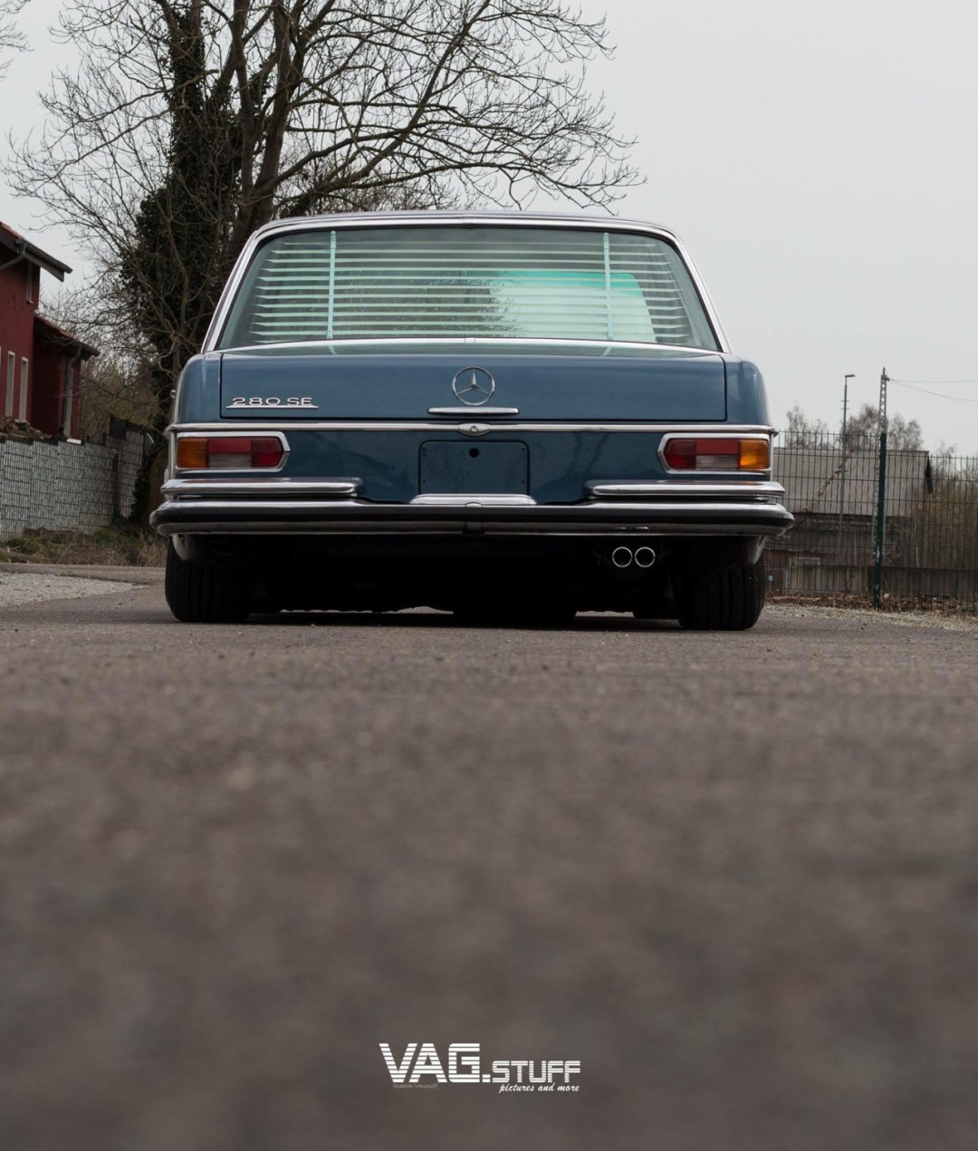 Bagged Mercedes 280SE... Barock ou AMG ? 30
