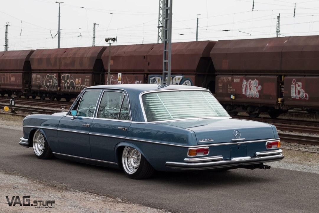 Bagged Mercedes 280SE... Barock ou AMG ? 29