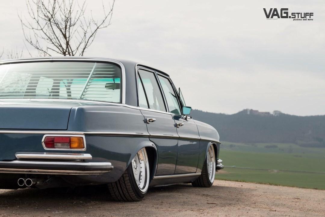 Bagged Mercedes 280SE... Barock ou AMG ? 26