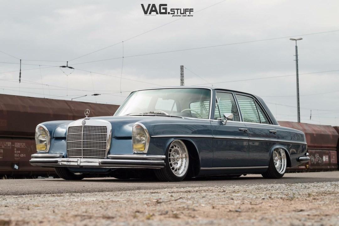 Bagged Mercedes 280SE... Barock ou AMG ? 24