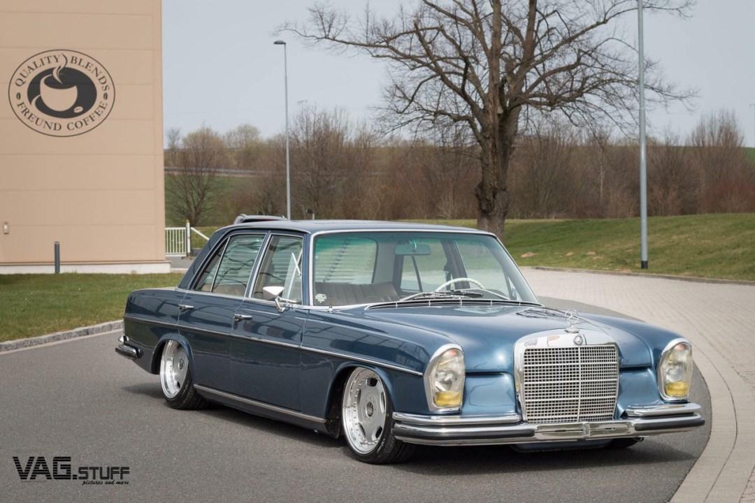 Bagged Mercedes 280SE... Barock ou AMG ? 23