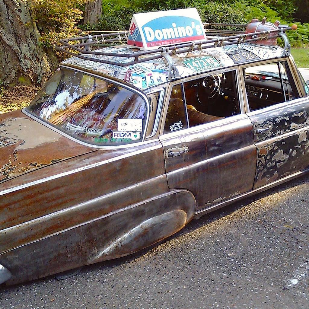 """'67 Static Mercedes 200d """"Hardtail Sally"""" - Où est passé l'antirouille ?! 20"""