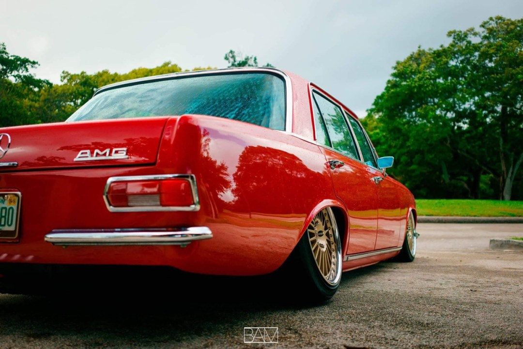 Red Bagged Benz W108... Mélange des genres ! 37