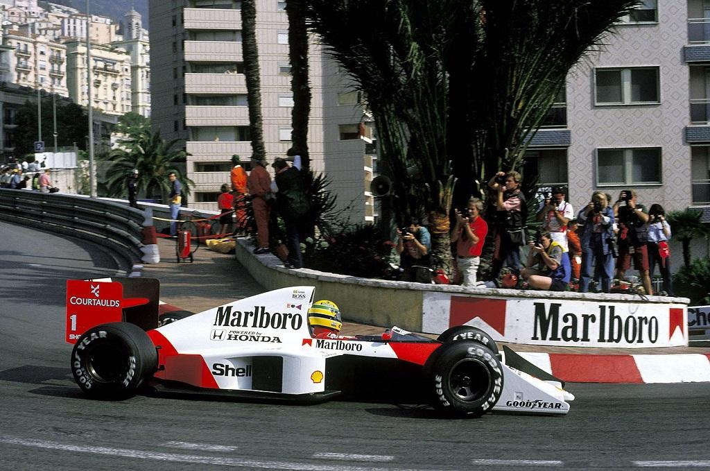 Ayrton Senna Onboard à Monaco - Ça secoue ! 11