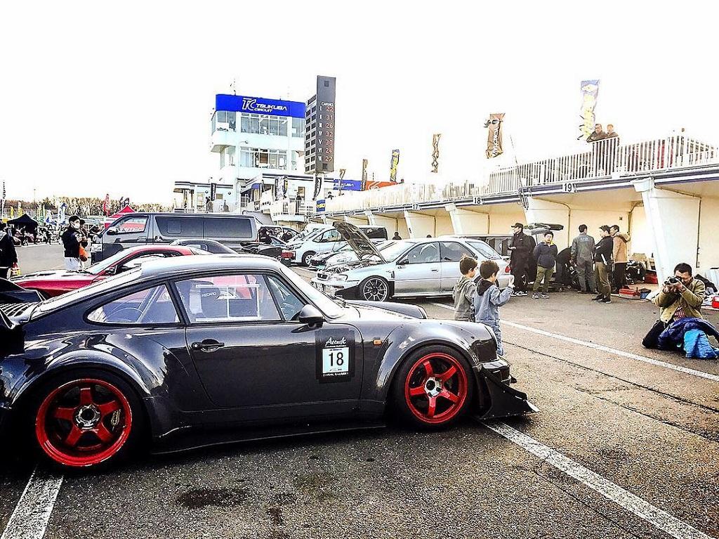 Porsche 964 RWB - Time Attack à Tsukuba 11