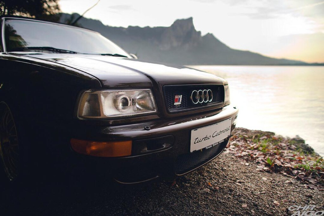Audi 80 Cab... RS2 ! Sortez couverts... 45